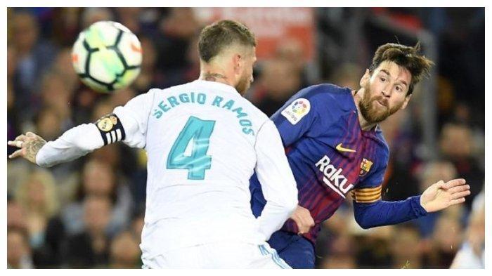 Hasil Liga Spanyol El Clasico Barcelona vs Real Madrid, Gol Gareth Bale Dianulir, Messi Nyaris Gol