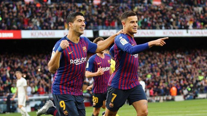 FULL TIME El Clasico Barcelona vs Real Madrid (5-1), Suarez Menggila