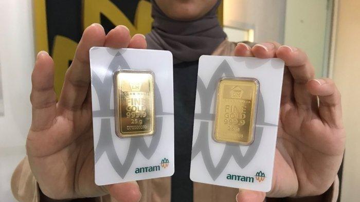 UPDATE Harga Emas Antam Kamis 8 April 2021, Turun Rp 2.000 Per Gram, Ini Rincian Lengkapnya
