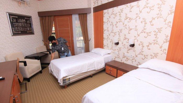 Embarkasi Haji Balikpapan Mulai Alih Fungsi Jadi Rumah Sakit Darurat Covid-19