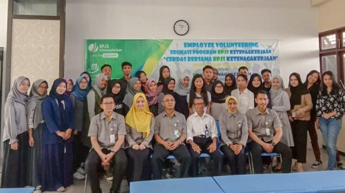 BPJS Ketenagakerjaan Sosialisasi di STIE Madani Balikpapan