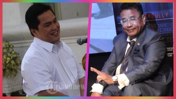 Demi Bongkar Skandal di Garuda, Menteri BUMN Erick Thohir Kirim Pesan WA ke Hotman Paris, Isinya