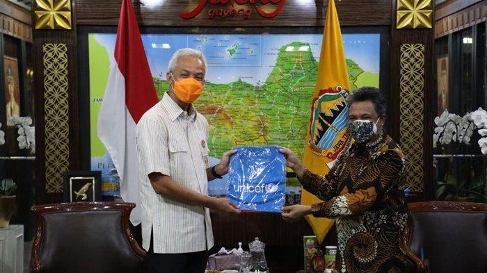 Apresiasi Pelaksanaan PTM di Jawa Tengah, Perwakilan Unicef Bertemu Gubernur Ganjar Pranowo