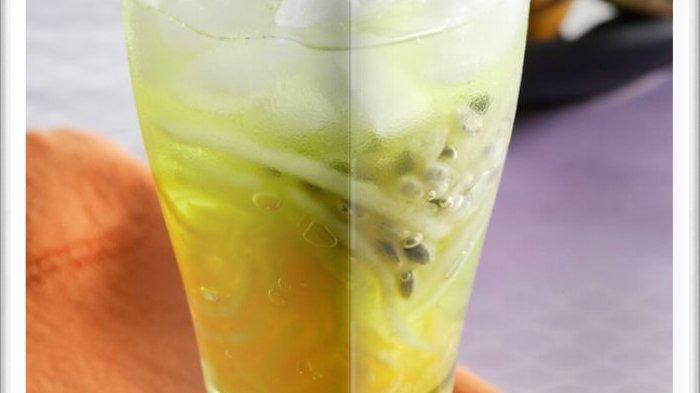 Cara Bikin Es Blewah Markisa Melon Super Nikmat, Sangat Menyegarkan Jika Diminum Siang Hari