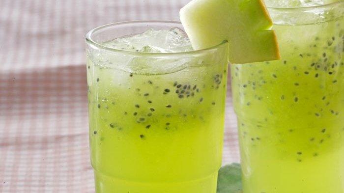 Resep Squash Melon Selasih Enak, Kesegarannya Menghilangkan Dahaga kala Cuaca Panas