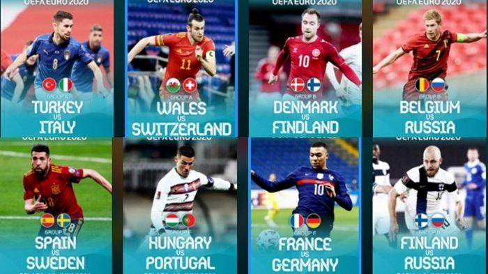 LENGKAP Klasemen, Jam Tayang dan Jadwal Euro 2020, Link Live Streaming RCTI & Mola TV