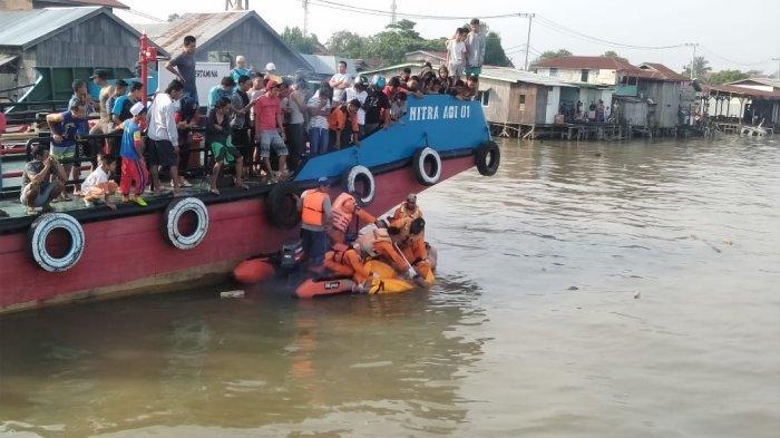 BREAKING NEWS - Hilang Sejak 2 Hari Lalu, ABK Asal Bulukumba Ditemukan Mengapung di Sungai Mahakam