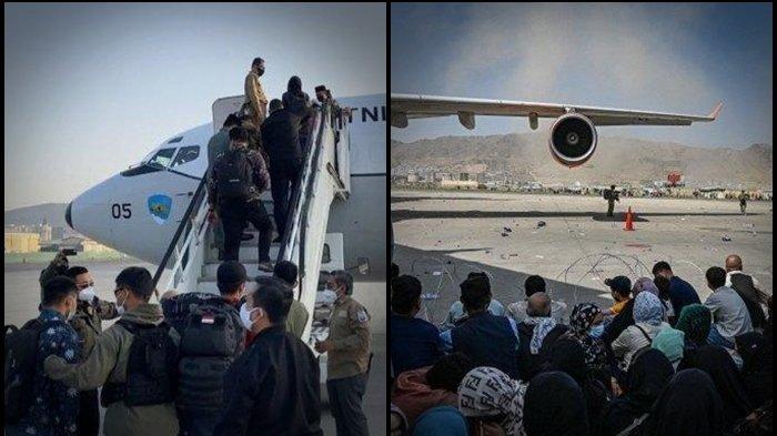 ASAL-USUL 7 WNA yang Dievakuasi Skadron TNI AU di Afghanistan, Indonesia: Ini Kewajiban Kemanusiaan