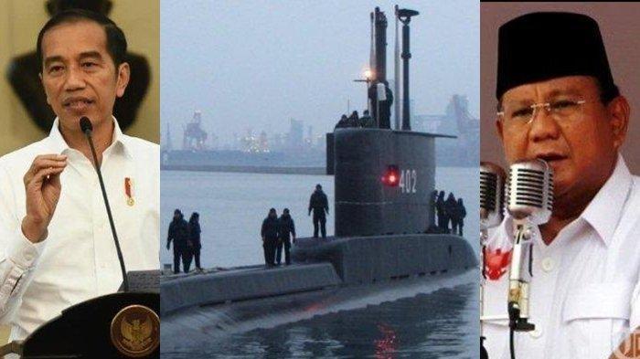 KRI Nanggala-402 Tenggelam, Jokowi Diminta Evaluasi Kinerja Prabowo, Anggaran Tiap Matra TNI Timpang