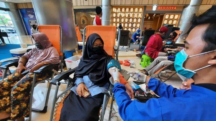 Update Stok Darah di UDD Palang Merah Indonesia Samarinda, Senin 14 Juni 2021, Stok Darah TC Menipis