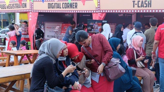 Sambut Tahun Baru 2019, Telkomsel di Balikpapan Galang Donasi untuk Korban Tsunami Selat Sunda