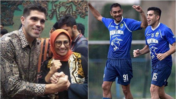 Update, Bek Persib Bandung Foto Bareng Legislator Kaltim Fabiano Beltrame Resmi Jadi WNI?