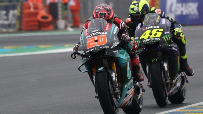 MotoGP 2020, Rival Marc Marquez Gusur Valentino Rossi di Yamaha, Begini Pengakuan Fabio Quartararo