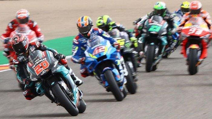 MotoGP Thailand 2019 - Fabio Quartararo ungguli Marc Marquez dan Valentino Rossi di Sesi FP 2