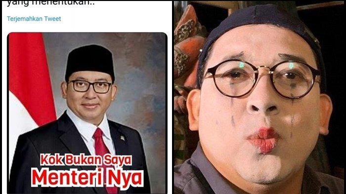 Meme Fadli Zon: Kok Bukan Saya Menterinya, Anak Buah Prabowo Ngakak Ada yang Berpikir Seperti Itu