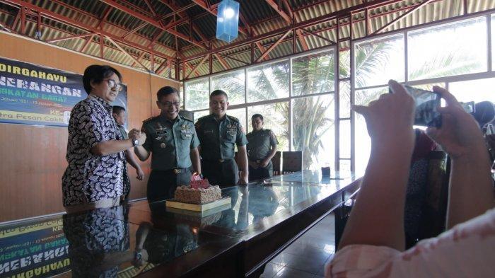 Tribun Kaltim Beri Ucapan HUT ke 69 Penerangan TNI AD, Begini Harapan Kapendam VI Mulawarman