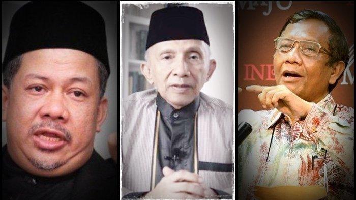 Fahri Hamzah & Mahfud MD Sependapat, Soal Presiden 3 Periode Ada yang Cari Muka dan Menjilat Jokowi