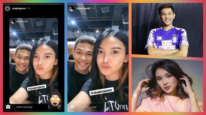 Fajar Alfian dan Shakira Jasmin Live Instagram Bareng, Partner Rian Ardianto Dekati Artis ?