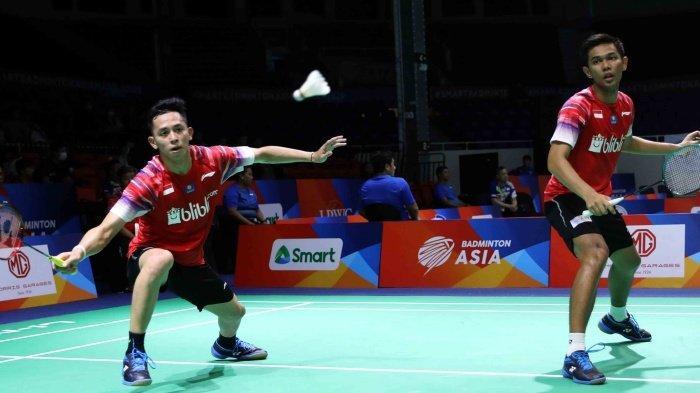 HASIL Piala Thomas & Uber 2020: Indonesia vs Chinese Taipe, Ginting Sumbang Poin Pertama