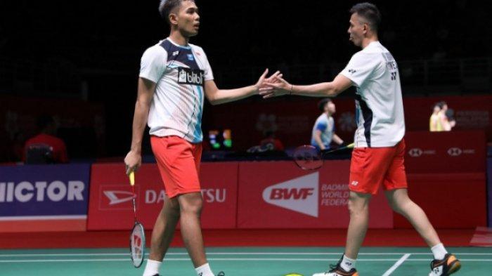 Fajar/Rian Kalahkan Marcus/Kevin di Perempat Final Malaysia Masters 2020, Duel Seru hingga Akhir