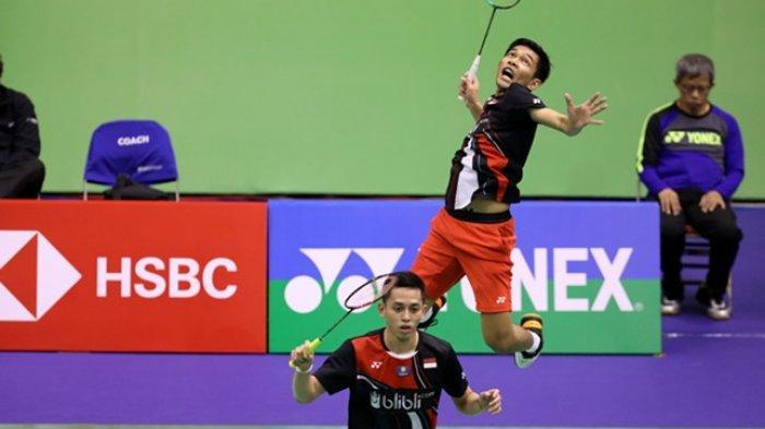 Hasil Hong Kong Open 2019 Fajar/Rian Terhenti di Babak Kedua, tak Mampu Atasi Ganda Malaysia