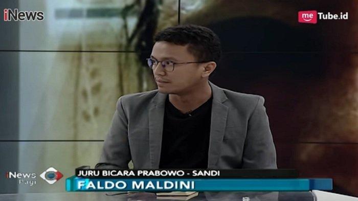 Disebut Yunarto Wijaya Kalah di Dapil dan Tak Lolos ke Parlemen, Faldo Maldini Angkat Bicara