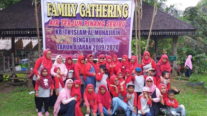 Asiikkkk, Kelas Utsman Bin Affan Heboh di Acara Family Gathering
