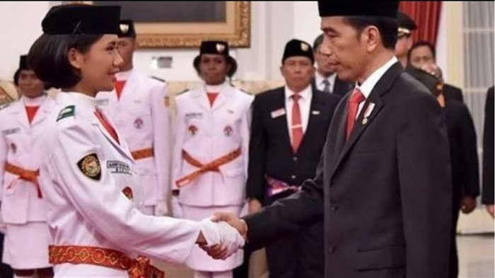Selain Fariza, ini Anggota Lain dari Pengibar Bendera di Istana Merdeka, yang Cowok Ganteng Banget