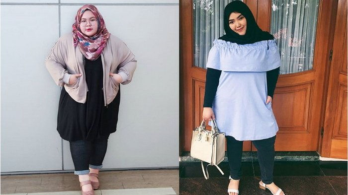 Punya Tubuh Gemuk? Yuk, Tiru 8 Gaya Hijab Super 'Kece' ala Selebgram Indonesia Ini!