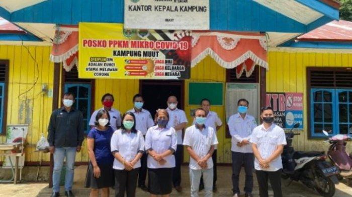 Kepala DPMK Kutai Barat Tinjau Proyek PKTD di Dua Kampung Kecamatan Nyuatan
