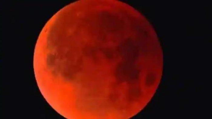 Bacaan Niat Shalat Gerhana Bulan Total, Tata Cara dan Doa Saat Lihat Gerhana, Hari Ini 26 Mei 2021