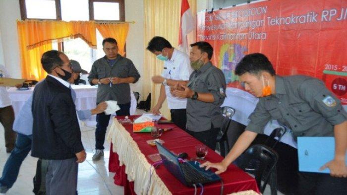 Gelar FGD Virtual di Perbatasan Krayan, Bappeda-Litbang Susun Rancangan Teknokratik RPJMD 2022-2026