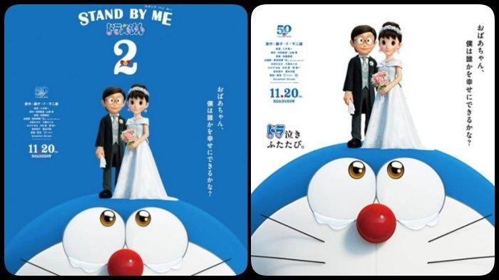 Film Stand by Me Doraemon 2 Segera Tayang, Nobita dan Shizuka Akhirnya Nikah, Sinopsis dan Trailer