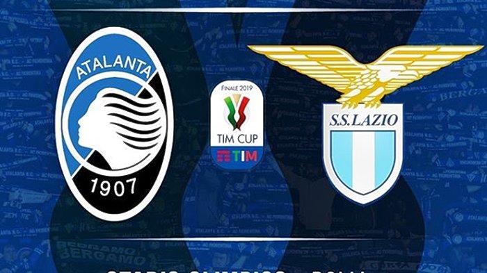 Live Streaming TVRI Final Coppa Italia Atalanta vs Lazio, Isu Transfer jadi Pemanas Duel Kedua Tim