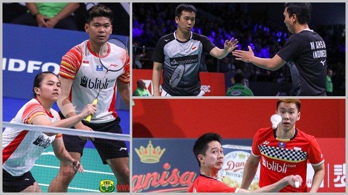 SEGERA MAIN Jadwal & Link Live Streaming Badminton Hari Ini Denmark Open 2019 Ada 3 Wakil Indonesia