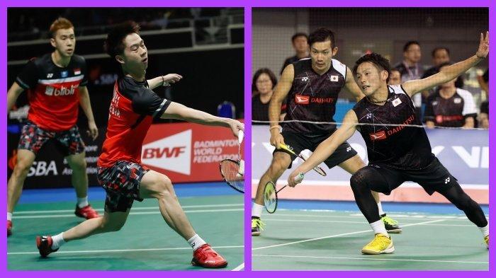 Final Fuzhou China Open 2019 Hari Ini Pertemuan ke-15 Marcus/Kevin dan Kamura/Sonoda Siapa Unggul ?