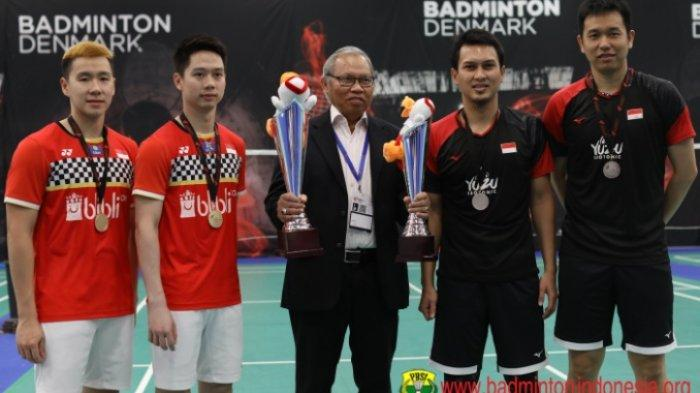 Final Indonesia Masters 2020 Marcus/Kevin vs Ahsan/Hendra, Live TVRI dan Live Streaming TV Online
