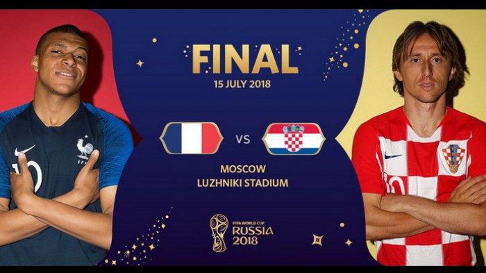 Inilah Susunan Pemain Perancis Vs Kroasia - Pelatih Pertahankan Komposisi The Winning Team