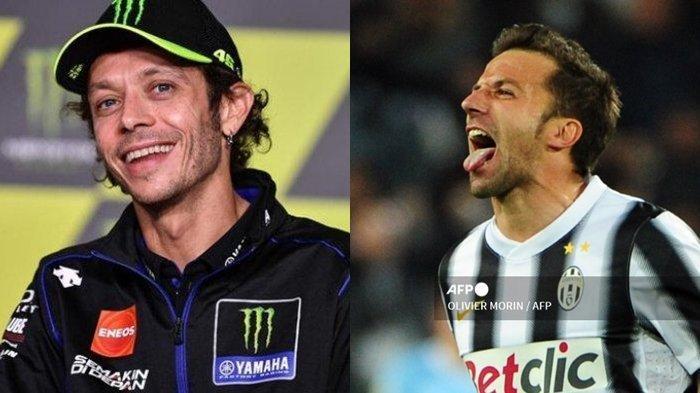 Valentino Rossi di MotoGP Diibaratkan Seperti Italia Memainkan Del Piero di Final Euro 2020