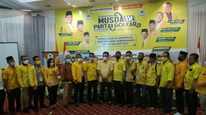 Hasanuddin Mas'ud Terpilih Menjadi Ketua DPD Partai Golkar Kukar