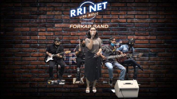 Terbentuk Dadakan, Forkap Band Bergenre Pop Asal Nunukan Langsung Tampil Perdana Live Music di RRI