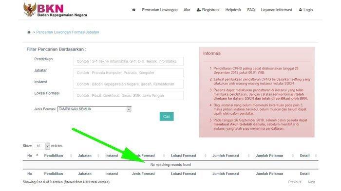 Soal Upload Ulang Berkas di SSCN, Ini Tips Mudah Mendeteksi Penipuan Bagi Pelamar CPNS 2018