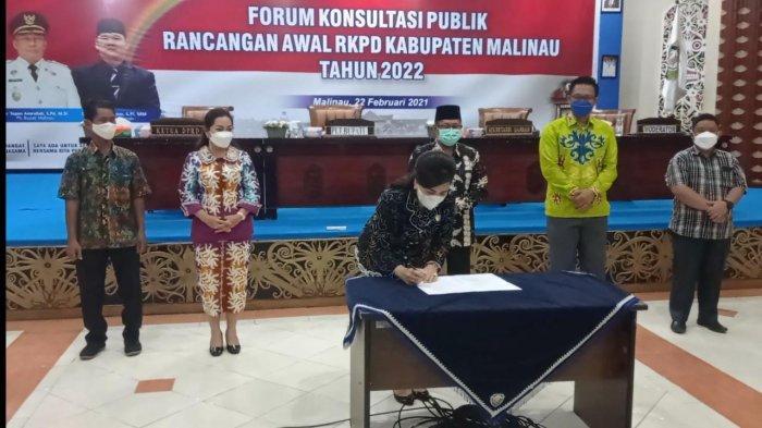 Ketua DPRD Malinau Ping Ding Usulkan Rencana Pemulihan Dampak Covid-19 dalam RKPD 2022