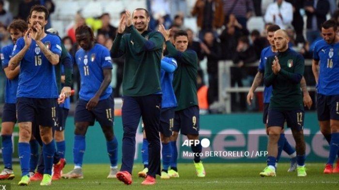 Hasil UEFA Nations League 2021: Italia Taklukkan Belgia, Gli Azzurri Rengkuh Juara 3