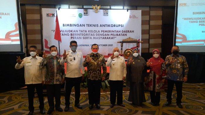 Ikut Hadiri Bimtek KPK, Wabup Paser Ajak Masyarakat Ciptakan Budaya Antikorupsi