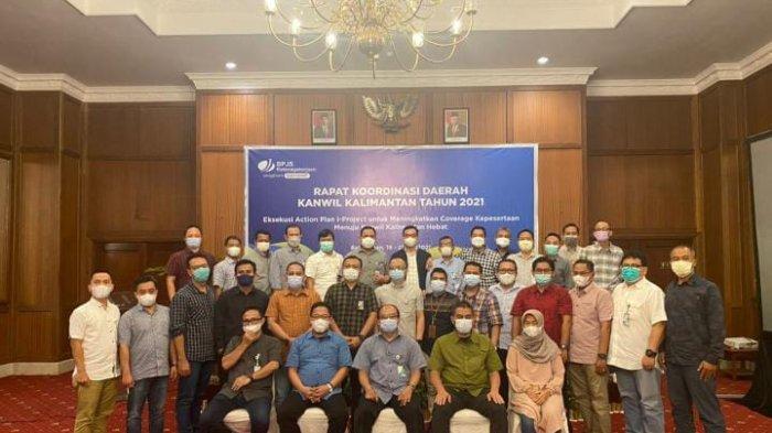 Tingkatkan Coverage Kepesertaan, BPJamsostek Gelar Rakorda Se-Kalimantan