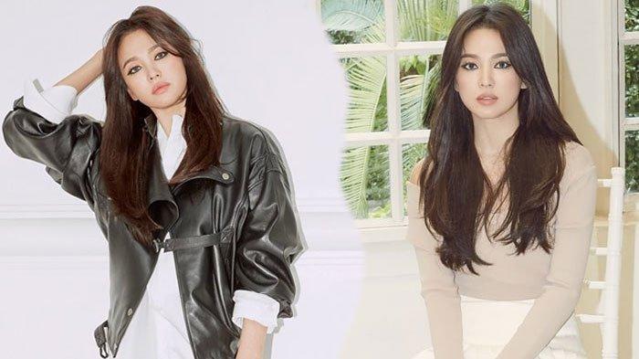 Foto-foto Terbaru Song Hye Kyo Promosi Sepatu, Fashion Chic yang Menawan!