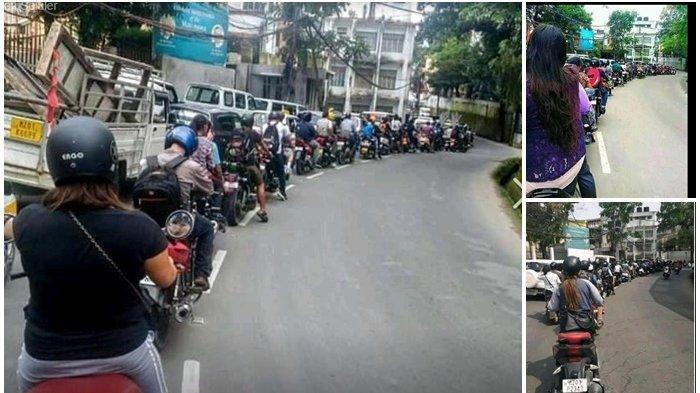 Foto Antrean Pengendara di Jalan Ini Jadi Sorotan, Disebut-sebut Sulit Diterapkan di Indonesia