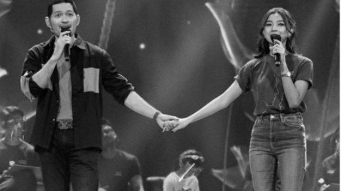 Foto Kedekatan Glenca Chysara dan Evan Sanders di Luar Syuting Ikatan Cinta, Kompak Bikin Tanda Love