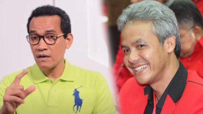 Jawaban Ganjar Pranowo saat Didesak Refly Harun, Pilih Capres atau Cawapres?